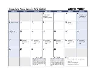 Calendario Abril ZC